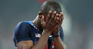 American sprinter LaShawn Merritt.