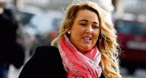 Lorraine Thompson outside Dublin Circuit Civil Court, where she was awarded €38,000. Picture: CourtPix