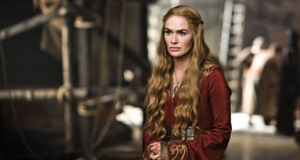 Lena Headey plays the nasty Cersei Lannister in Game of Thrones.