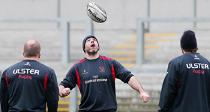 Ulster team training in January