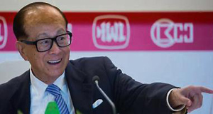 Li Ka-shing, Chairman of Cheung Kong Holdings
