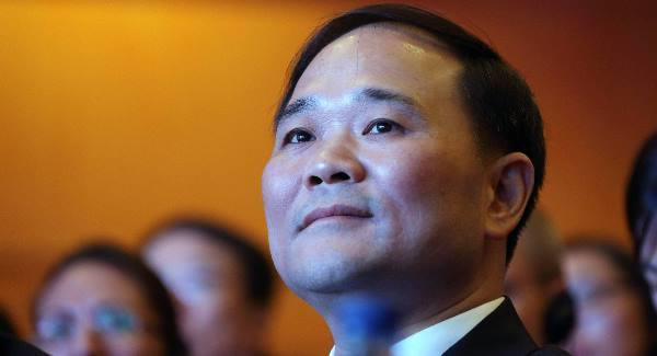 Volvo chairman Li Shufu: Chinese billionaire.