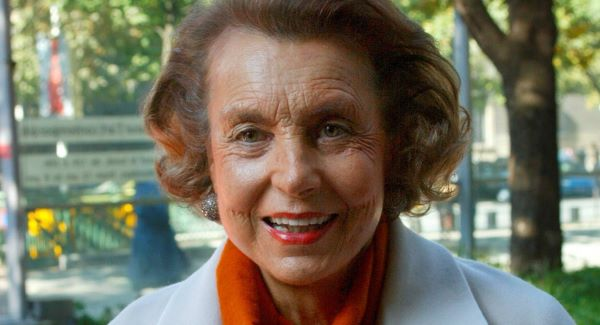 Liliane Bettencourt, 90, reputedly duped