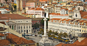 Lisbon place is teeming with tourists and bustling with life, with fine food at every turn