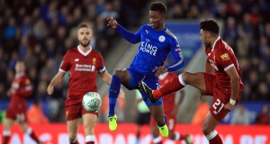 Leicester dump Liverpool out of the Carabao Cup