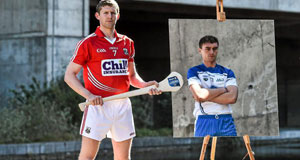 Cork's Lorcan McLoughlin and Waterford's Pauric Mahony all set for tomorrow's NHL Division 1 final at Semple Stadium. Picture: Ramsey Cardy / Sportsfile
