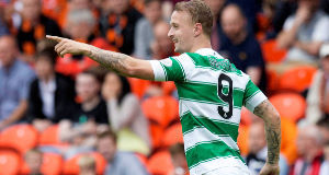 Celtic striker Griffiths fires warning to cup final opponents Motherwell
