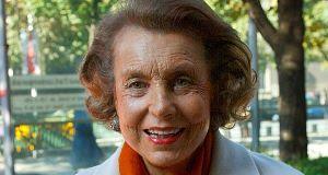 Liliane Bettencourt: The L'Orealcosmetics empire heiress.