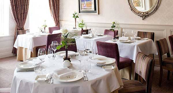 The dining room at MacNean House & Restaurant: A high watermark in destination dining from the man who's often referred to as the Daniel O'Donnell of Irish food.