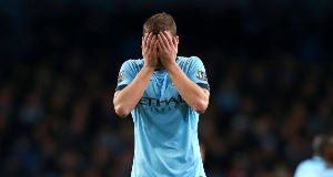 Edin Dzeko sums up the feeling at Man City