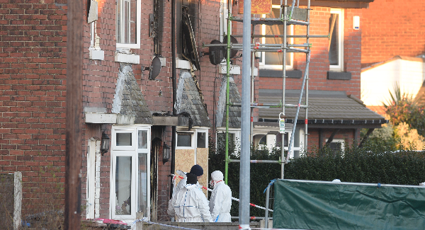 Salford fire: Six people in hospital after house blaze