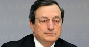 Mario Draghi: Wants to boost credit to SMEs.