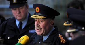 Former Garda Commissioner Martin Callinan - retired suddenly