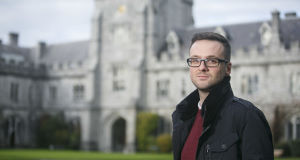 UCC PhD candidate Martin Davoren who compiled the research. (Photo credit: Tomas Tyner)