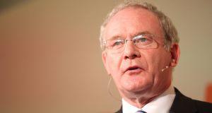 Sinn Féin's Martin McGuinness