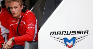 Marussia's Max Chilton. Picture: PA