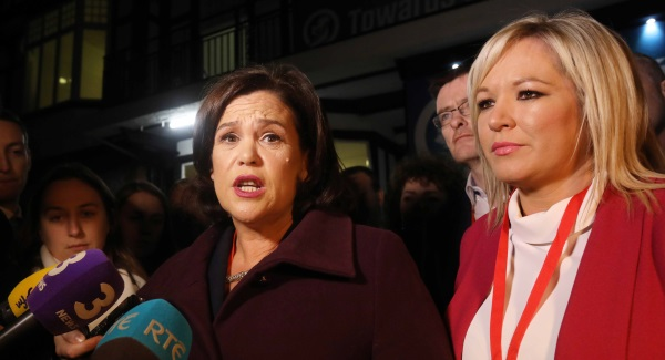 Ireland's Sinn Fein leader Gerry Adams to step down in 2018