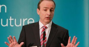 Micheal Martin's poll results are consistently ahead of thoseof his party.