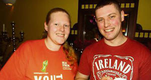 Tara Whelan, Mitchelstown Macra, and Tom Ahern, Fermoy Macra, at Mitchelstown Macra's mental health awareness evening which took place at the Firgrove Hotel.