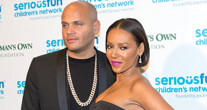 Mel B with husband Stephen