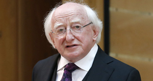 President Higgins expresses sympathy with those affected by Westminster attack