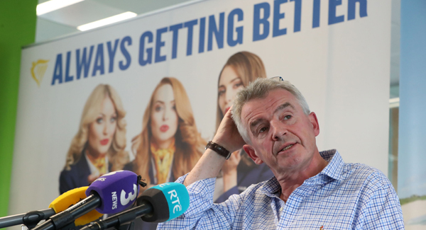 Ryanair reluctantly bows to pressure over rerouting and cancellation compensation