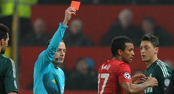 …this time with his support for this red card.