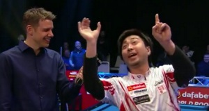 Update: Japanese pool player defeated; gives another classic interview