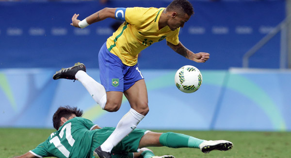 Rio 2016: Pele delights in long-awaited Olympic triumph