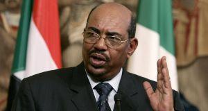 Sudan President Omar al-Bashir in 2010