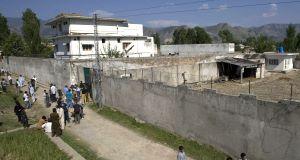 The compound where bin Laden was found