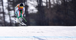 Pat McMillan and Tess Arbez impress in their Winter Olympic debuts for Ireland