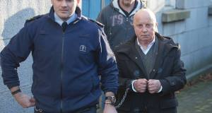 Patrick Barry being led away from court after sentencing last summer.