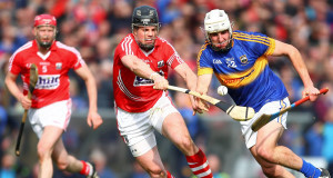 Tipperary's Patrick Maher in action against Shane O'Neill of Cork. Picture: Inpho