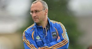 Tipperary manager Peter Creedon