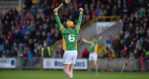 Peter Healion, Kilcormac Killoughey celebrates victory today. Picture: SPORTSFILE