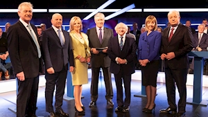 Presidential debate: Freeman accused of being out of step with public over No vote in abortion referendum