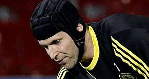 MOUNTING SPECULATION: Jose Mourinho insists no offers have been tabled for Petr Cech.