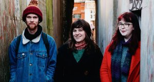 Caoilian Sherlock, Eszter Nemethi and Aisling O'Riordan of Quarter Block Party.Picture: Iamacosmonaut