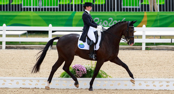 Germany claimes the Olympic Dressage Team Gold