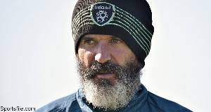 Republic of Ireland assistant manager Roy Keane was accused of following a taxi, swearing, and being aggressive after the driver told the former Ireland and Manchester United captain to 'smile'.
