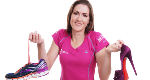 Ruthann Sheahan has two loves in her life (apart from her husband), ultra-marathon running and shoes, of which she has an amazing 120 pair in her Galway home.