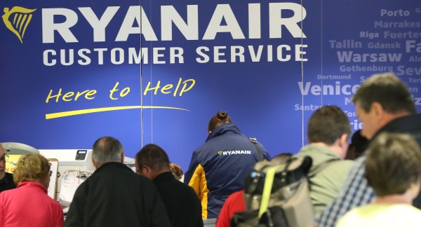 Irish Based Ryanair Pilots To Strike Less Than A Week Before Christmas