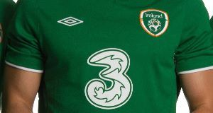Three Ireland will not be renewing sponsorship deal with FAI
