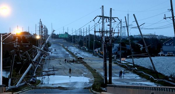 A week on from Superstorm Sandy, New York's weather woes are still continuing