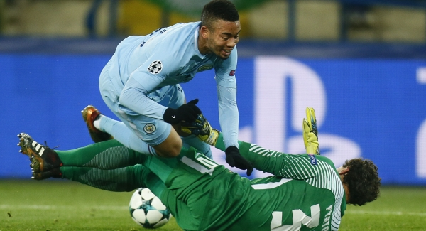 WATCH: Ederson error helps Shakhtar Donetsk defeat Manchester City