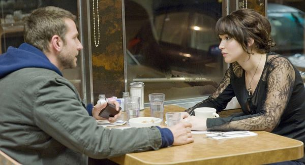 Lawrence and Cooper in 'Silver Linings Playbook'