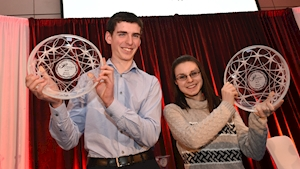 Budding scientists become youngest recipients of Cork Person of the Year awards for their research | BreakingNews.ie