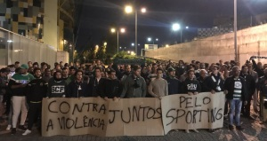 Sporting Lisbon hit out at 'pitiful' violence by fans against players