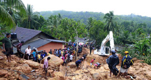 Sri Lankan death toll from mudslides rises to 151